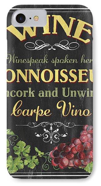 Wine Cellar 2 IPhone Case by Debbie DeWitt