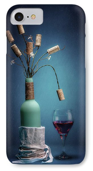 Wine Cork Bouquet IPhone Case by Tom Mc Nemar