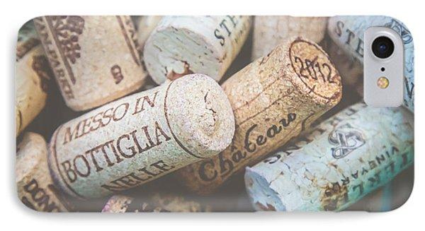 Wine Corks IPhone Case by April Reppucci