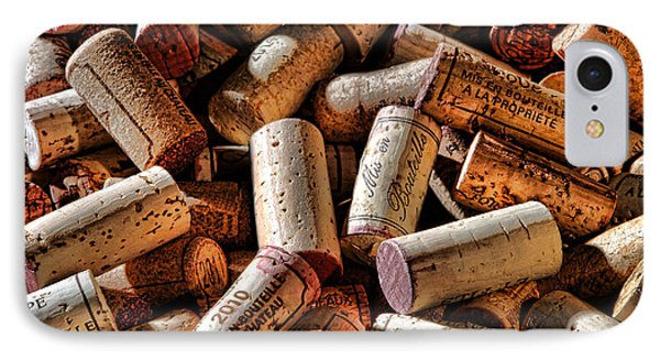 Wine Corks  IPhone Case by Olivier Le Queinec