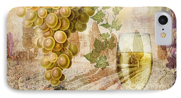Wine Country Chablis IPhone Case by Mindy Sommers