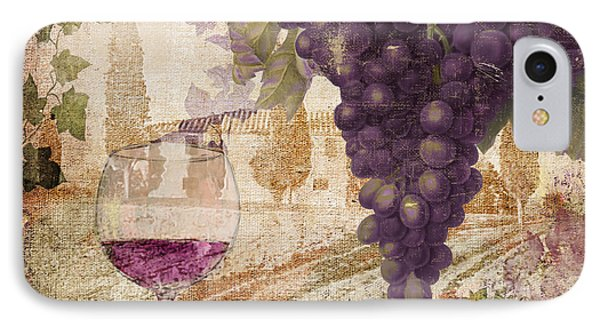 Wine Country Loire IPhone Case by Mindy Sommers