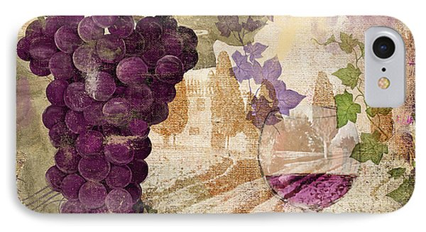 Wine Country Medoc IPhone Case by Mindy Sommers