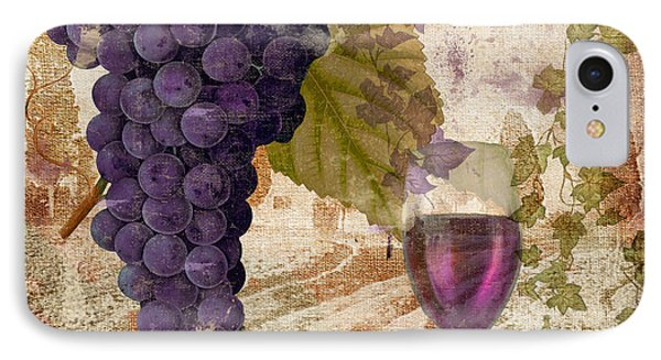 Wine Country Provence IPhone Case by Mindy Sommers