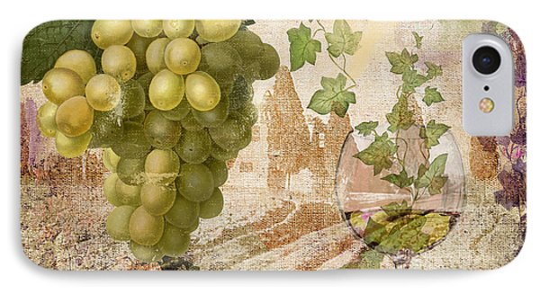 Wine Country Rhone IPhone Case by Mindy Sommers