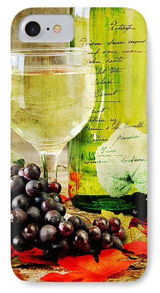Wine Phone Case by Darren Fisher