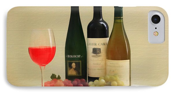 Wine Display Barn Door  IPhone Case by Dan Sproul