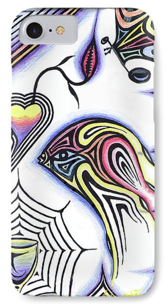 Wine Glass Fish IPhone Case by Luke Galutia