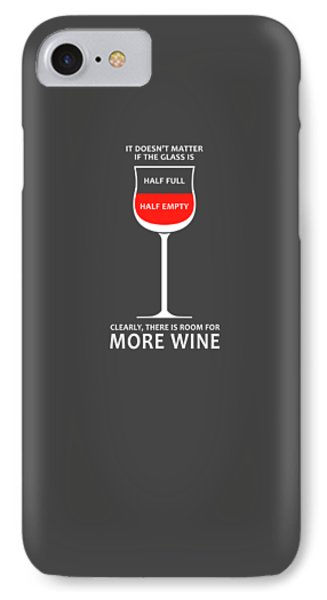 Wine Glasses 1 IPhone Case by Mark Rogan