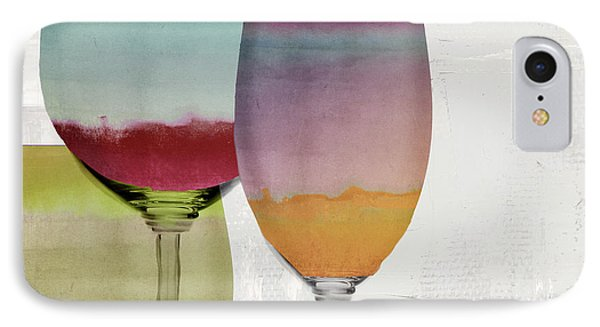 Wine Prism IPhone Case by Mindy Sommers
