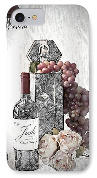 IPhone Case featuring the photograph Wine Tasting Evening by Sherry Hallemeier