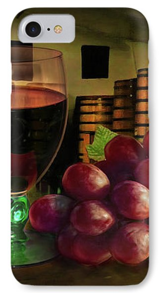 IPhone Case featuring the photograph Wine Tasting by Hanny Heim