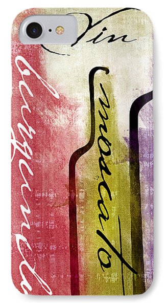Wine Tasting II IPhone Case by Mindy Sommers