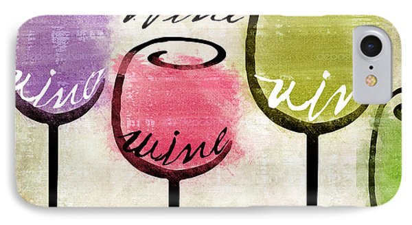 Wine Tasting IIi IPhone Case by Mindy Sommers