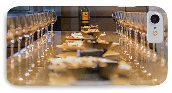Wine Tasting IPhone Case by Jon Berghoff