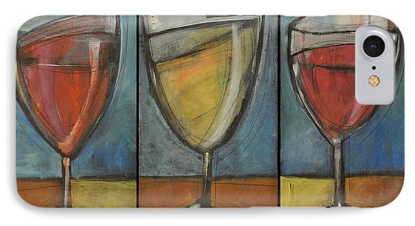 Wine Trio - Option One Phone Case by Tim Nyberg