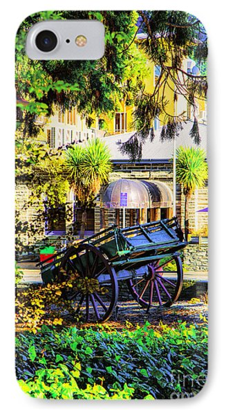 IPhone Case featuring the photograph Wine Wagon by Rick Bragan