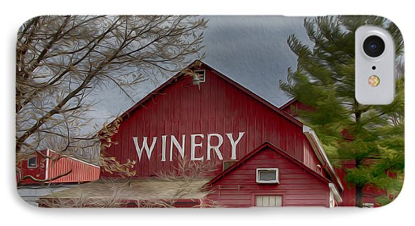 Winery Bucks County  IPhone Case
