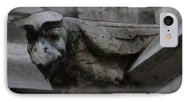 IPhone Case featuring the photograph Winged Gargoyle by Christopher Kirby