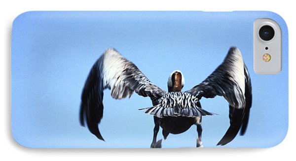 Wings In Position And Flaps Down Phone Case by Carl Purcell