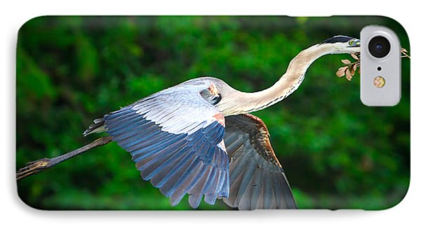 Wings Of Blue II IPhone Case by Mark Andrew Thomas