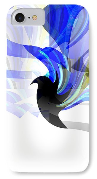 Wings Of Freedom IPhone Case by Thibault Toussaint