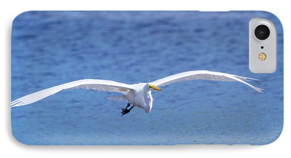 Wings Of The Great White IPhone Case by Mark Andrew Thomas