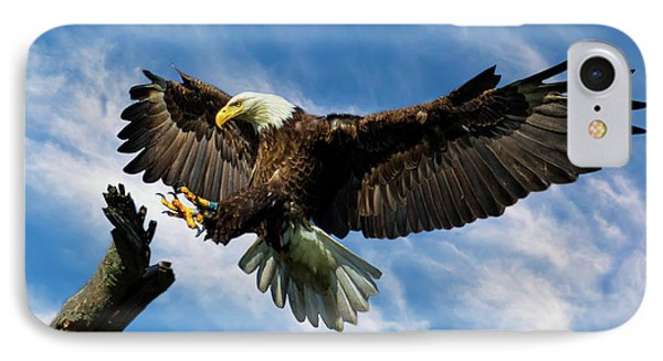 Wings Outstretched IPhone Case