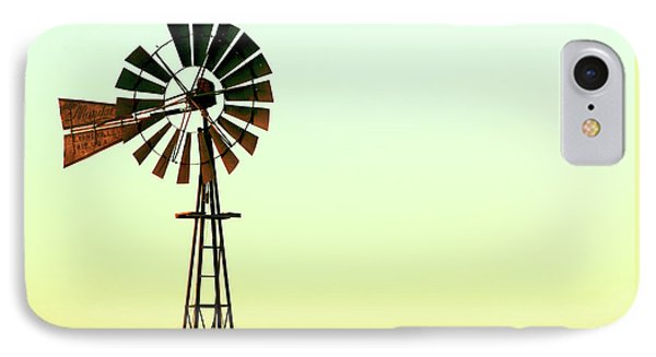 Winmill Tint IPhone Case by Todd Klassy