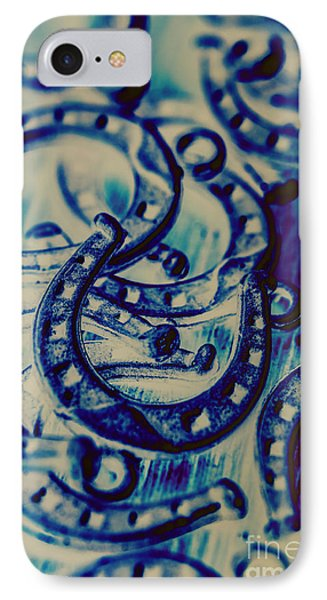 Winning Blue Country Tokens IPhone Case by Jorgo Photography - Wall Art Gallery