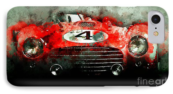 Winning Le Mans  IPhone Case by Jon Neidert