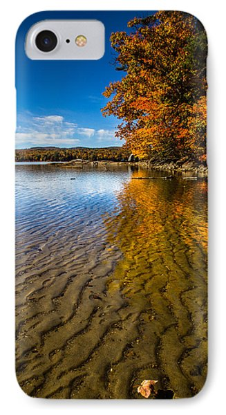 Winnisquam Fall IPhone Case by Robert Clifford
