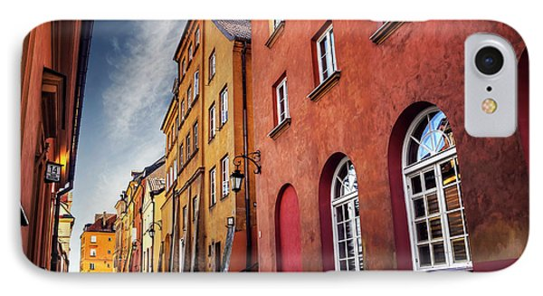IPhone Case featuring the photograph Winsome Warsaw  by Carol Japp