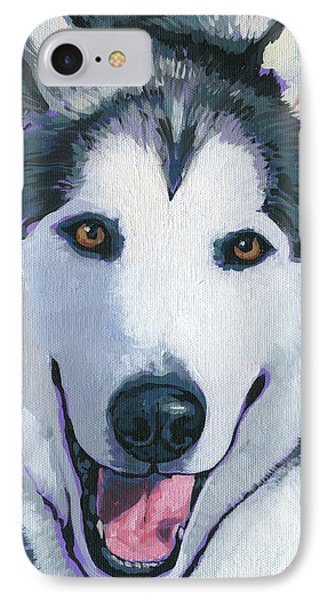 Winston IPhone Case by Nadi Spencer