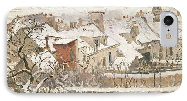 Winter, 1872  IPhone Case by Camille Pissarro