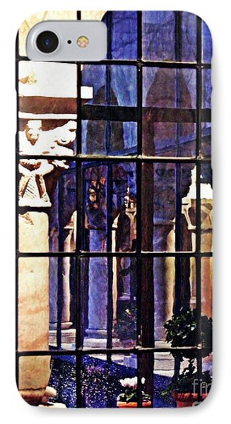 Winter Afternoon At The Cloisters 4 IPhone Case