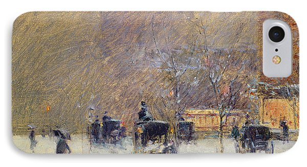 Winter Afternoon In New York IPhone Case