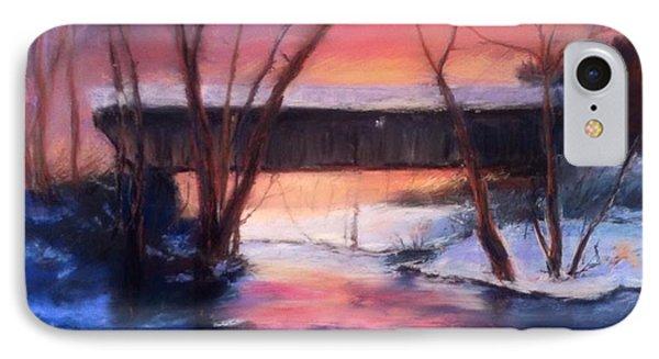 Winter At Bennett's Mill IPhone Case by Gail Kirtz