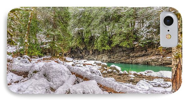 IPhone Case featuring the photograph Winter At Eagle Falls by Spencer McDonald
