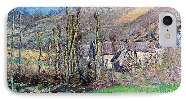Winter At The Val De Falaise IPhone Case