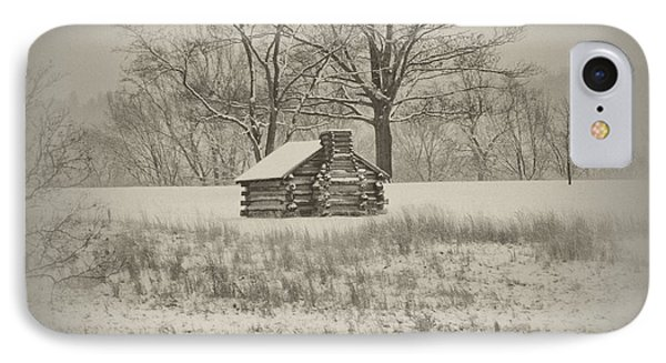 Winter At Valley Forge IPhone Case by Bill Cannon
