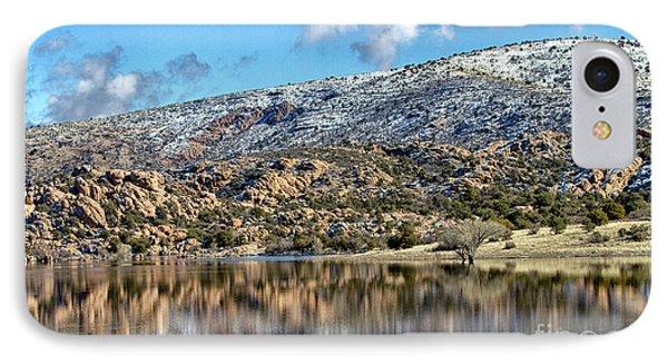 Winter At Watson Lake IPhone Case