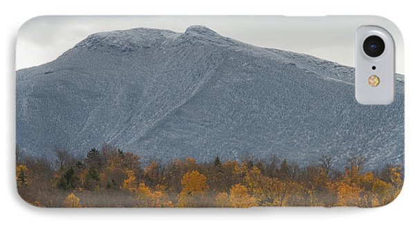 Winter Autumn Vermont Mount Mansfield Mountain IPhone Case by Andy Gimino
