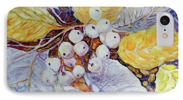 IPhone Case featuring the painting Winter Berries by Joanne Smoley