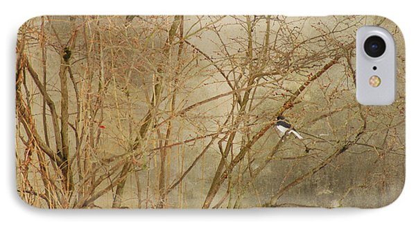 IPhone Case featuring the photograph Winter Bird At The Audubon by Margie Avellino