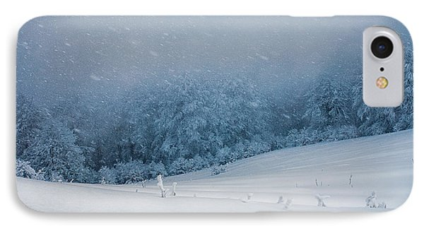 Winter Blizzard Phone Case by Evgeni Dinev