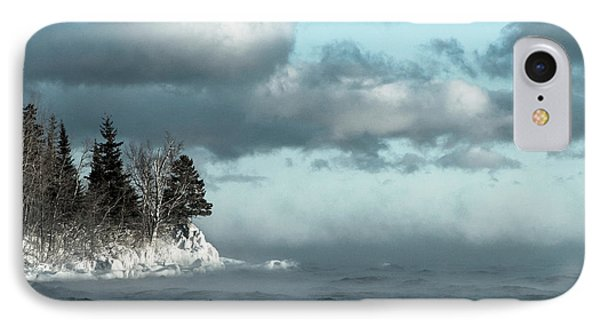 IPhone Case featuring the photograph Winter Blues by Mary Amerman