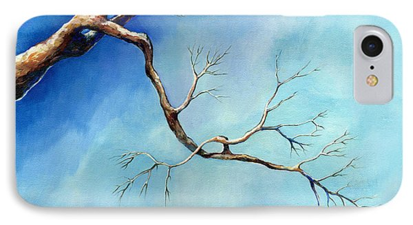 Winter Branching IPhone Case by Catherine Twomey