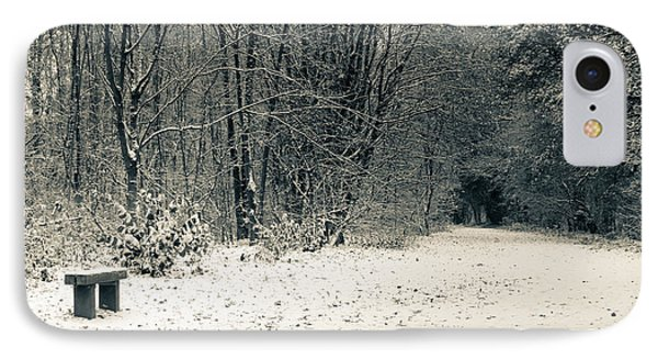 Winter Bridleway IPhone Case by Andy Smy