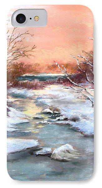 Winter Brook IPhone Case by Jack Skinner